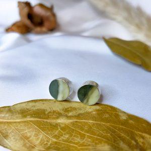 Green Dust Earrings